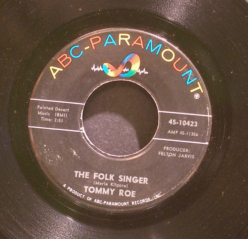 The Folk Singer / Count On Me - Tommy Roe