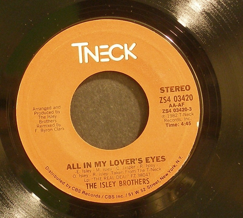 Isley Brothers - All In My Lover's Eyes / I'll Do It All For You