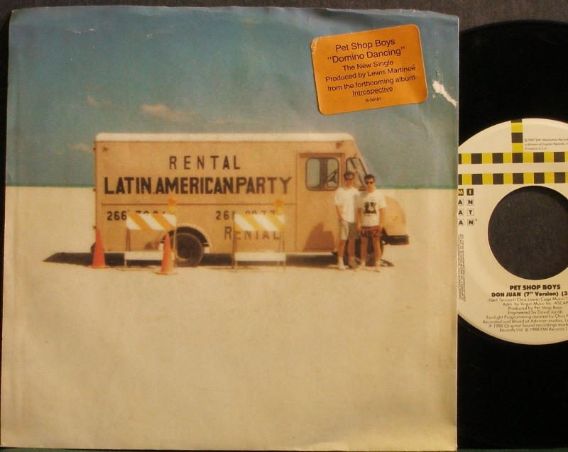 Pet Shop Boys -  vinyl records and cds