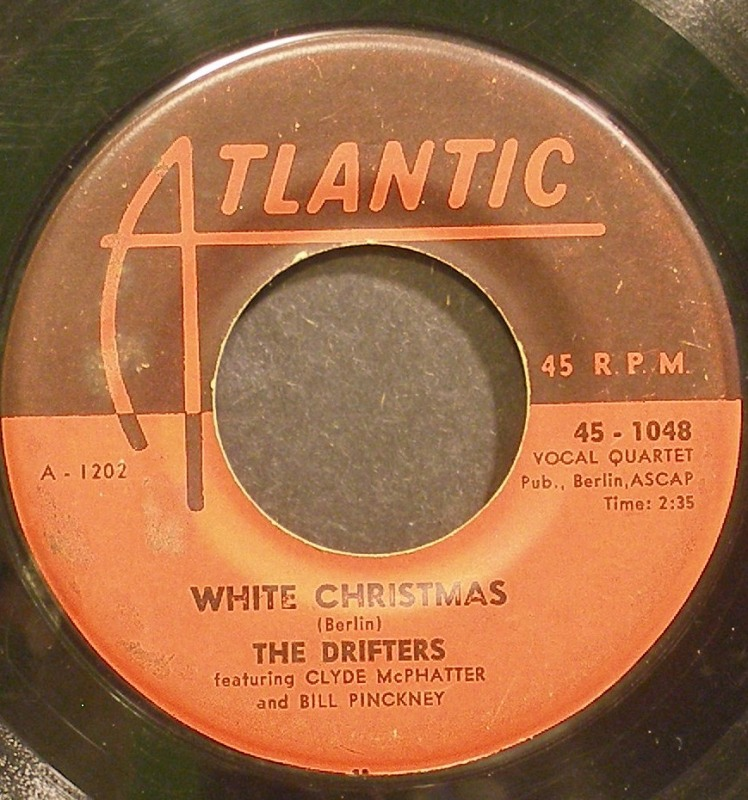Drifters - White Christmas / The Bells Of Saint Mary's
