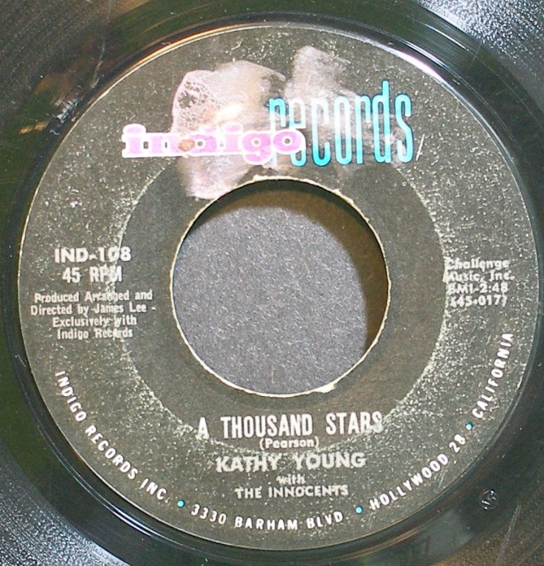 A Thousand Stars / Eddie My Darling - Kathy Young & The Innocents