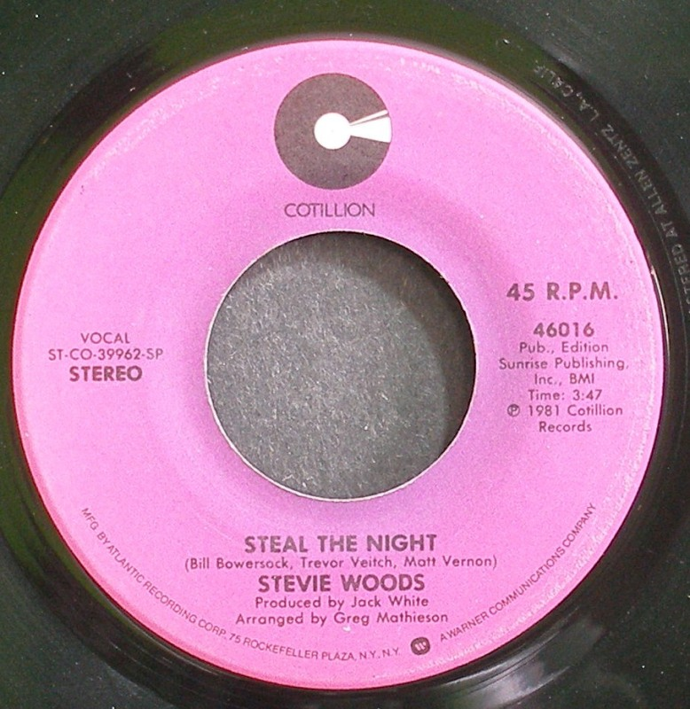 Stevie Woods - Steal The Night / Read Between The Lines