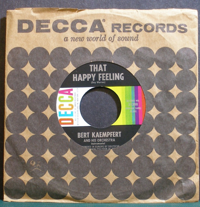 Bert Kaempfert - That Happy Feeling / Take Me