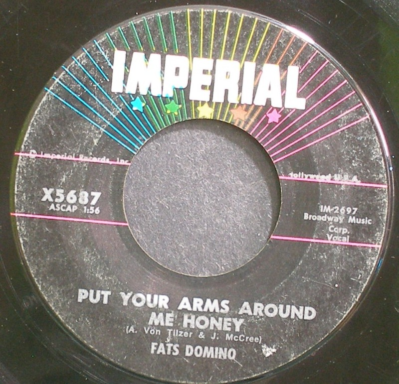 Fats Domino - Put Your Arms Around Me Honey / Three Nights A Week