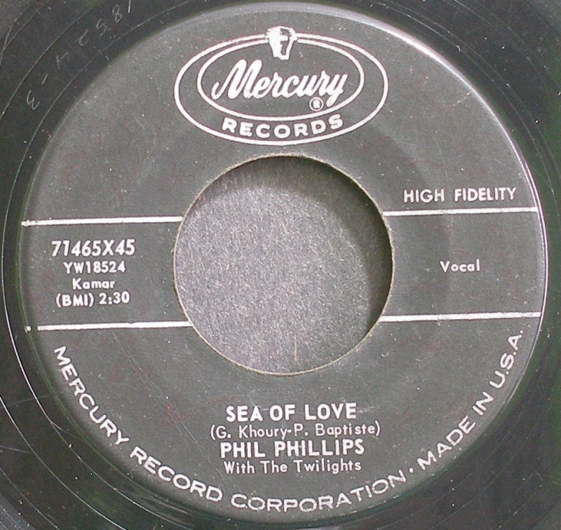 Sea Of Love / Juella - Phil Phillips & The Twilights