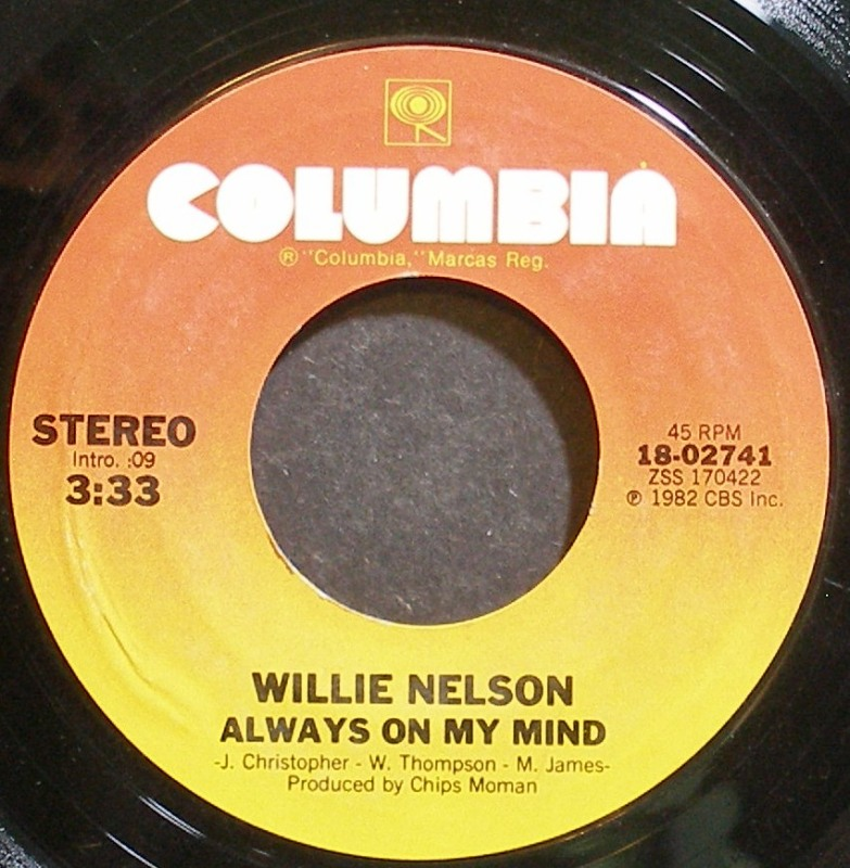Willie Nelson - Always On My Mind / The Party's Over (1st)