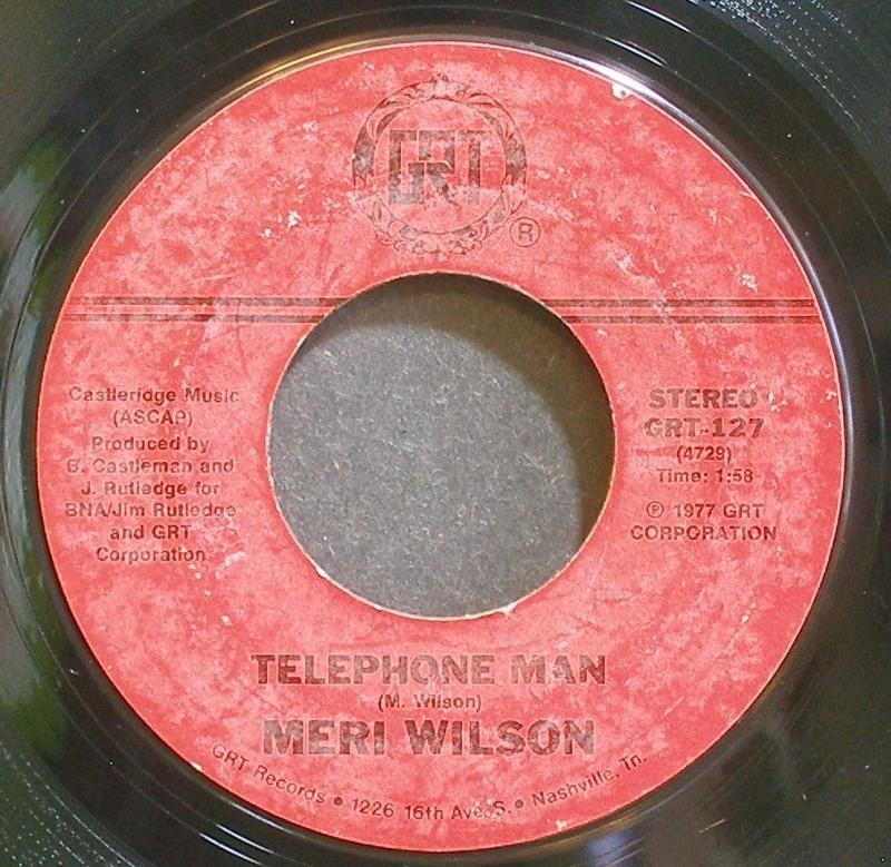 Meri Wilson - Telephone Man / Itinerary