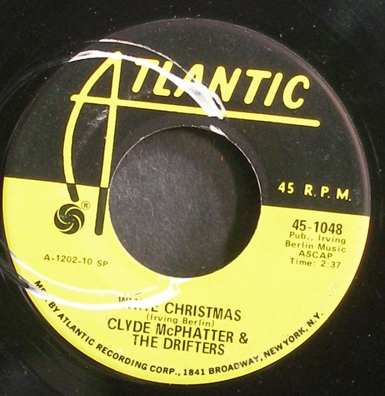 Drifters - White Christmas / The Bells Of St. Mary's
