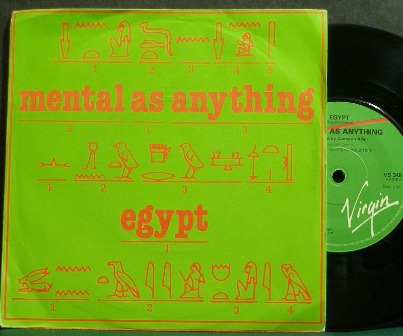 Mental as Anything - Egypt / Pork Is Not A Gift