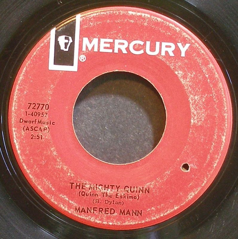 Manfred Mann - The Mighty Quinn (quinn The Eskimo / By Request)