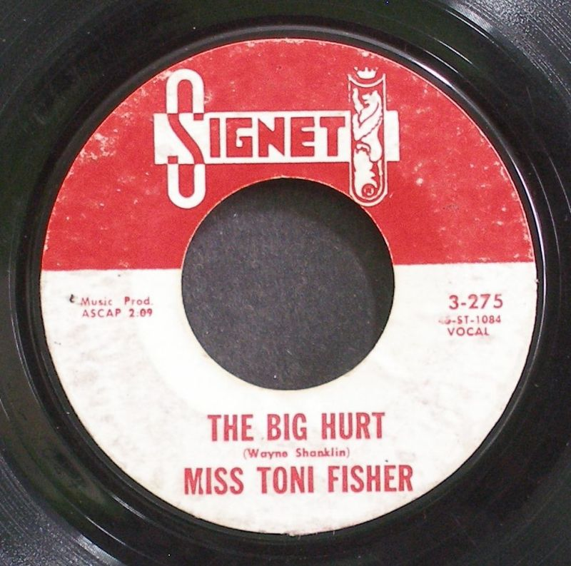 Toni Fisher - The Big Hurt / Memphis Belle
