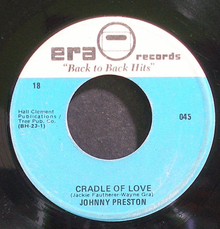 Johnny Preston & Jivin' Gene - Cradle Of Love / Breakin' Up Is Hard To Do