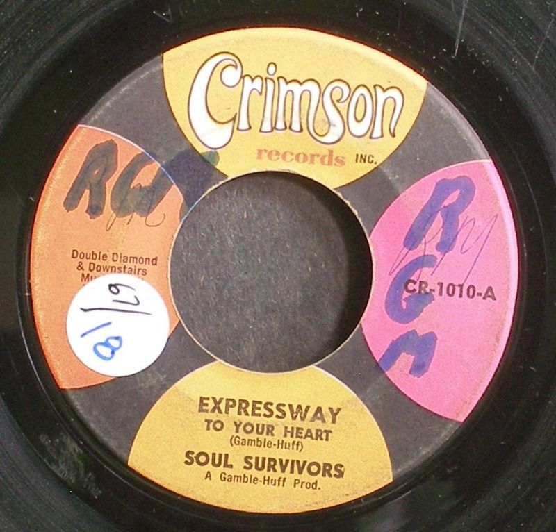 Soul Survivors - Expressway To Your Heart / Hey Gyp