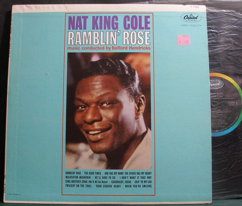 Nat King Cole - Ramblin' Rose Record